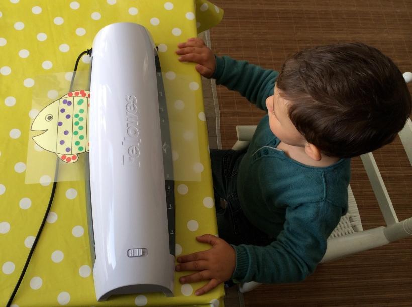 L activit montessori du jour plastifier le blog de - Comment plastifier une photo ...