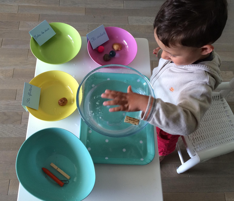 Très L'Activité Montessori du Jour : flotte ou coule ? | Le Blog de  QG28