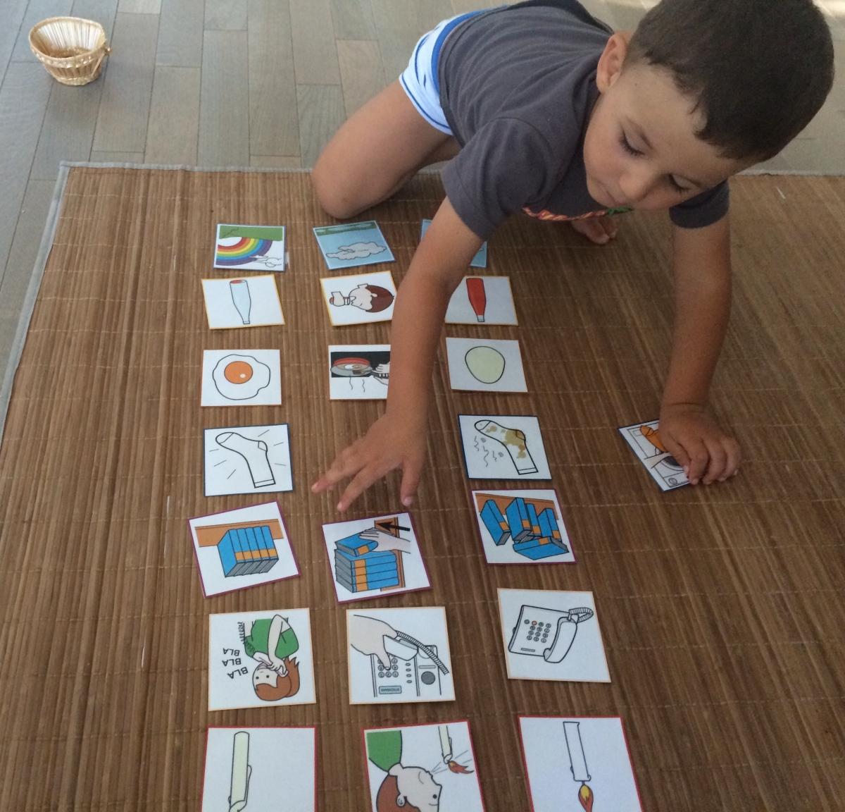 L'Activité Montessori du Jour : images séquentielles