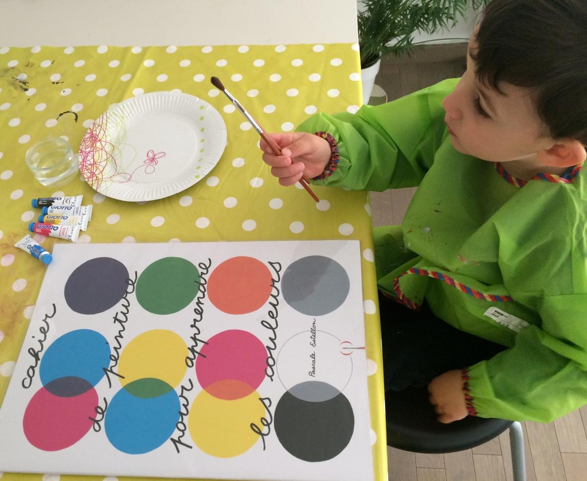 L'Activité Montessori du Jour : mélange de couleurs