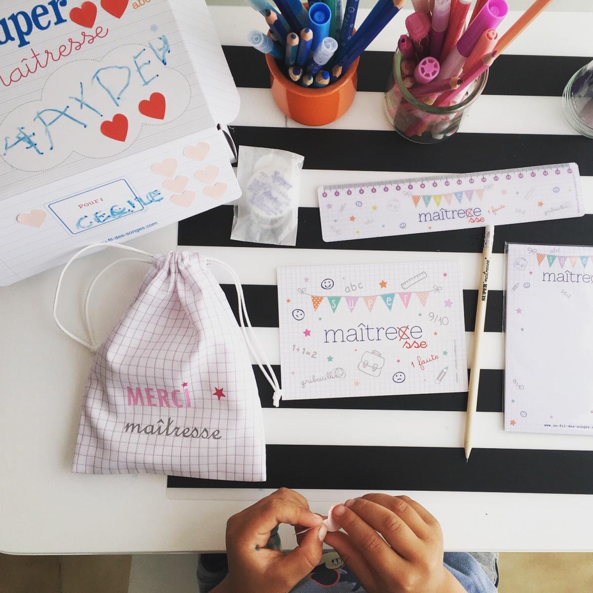 L'Activité Montessori du Jour : un cadeau plein d'attention pour sa maîtresse