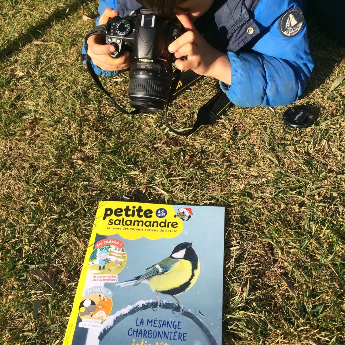 L'Activité Montessori du Jour : Découverte de la revue nature Petite Salamandre